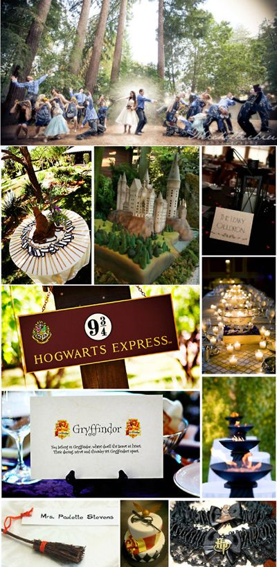 Harry Potter wedding! this just made me so happy