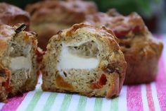 Muffins aux légumes et à la Vache qui rit