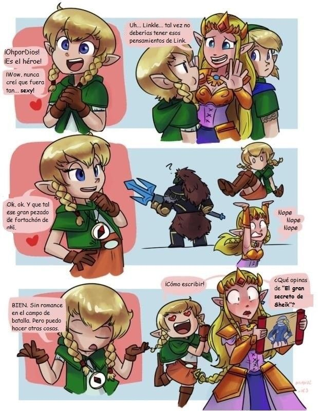 Linkle solo busca amor