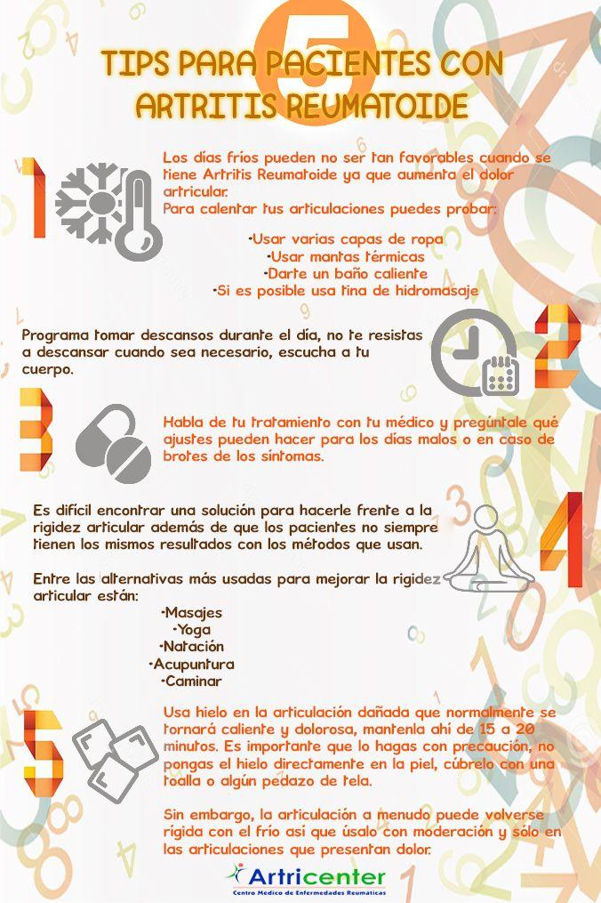5 tips para pacientes con Artritis Reumatoide