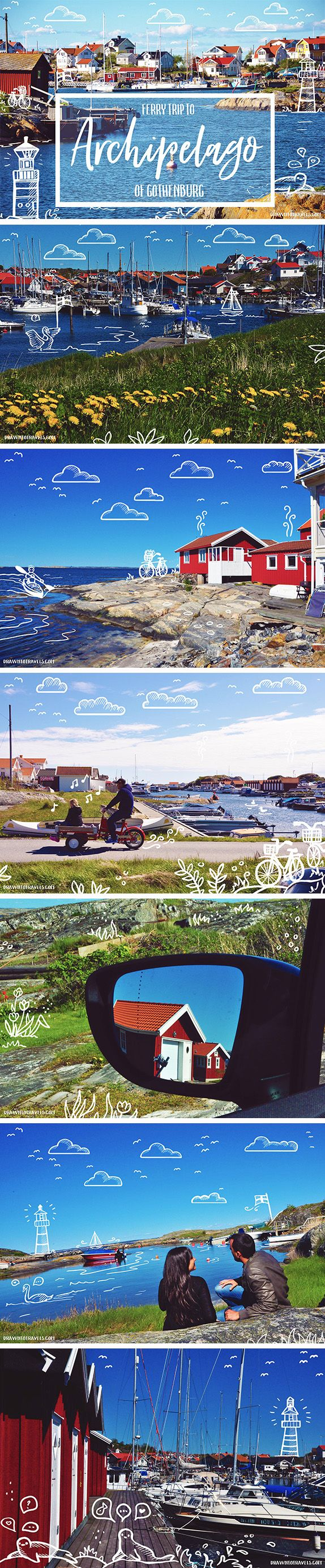 drawntotravels.com: The archipelago of Gothenburg is one of the Sweden's most beautiful rocky island formations, with many picturesque fisherman villages.
