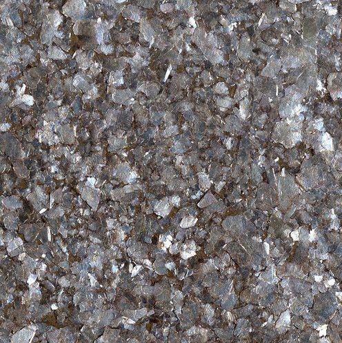 Deep Silver Mica Chips Textured Metallic Wallpaper