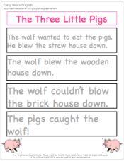 Reading fluency game.