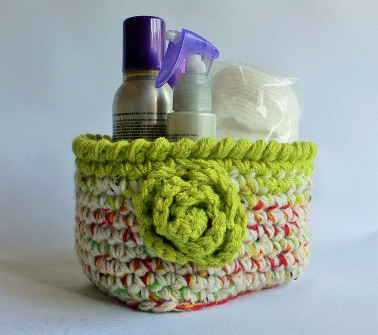Patrull Fire Extinguisher Ikea ~ Crochet Basket, Green Basket, Bathroom Accessories, Nursery Storage