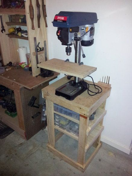 17 Best Ideas About Drill Press Stand On Pinterest Drill