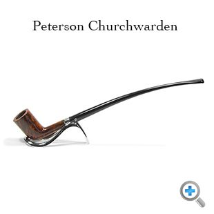 """Legend has it that the churchwarden pipe is named after the """"night watchman"""" who took care of the church. These """"churchwardens"""" had pipes made with long stems to keep the smoke away from their line of sight."""