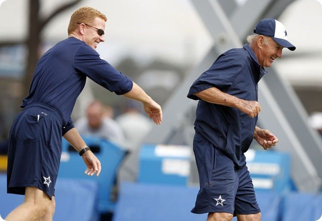 CHANGING OF THE GUARD - Monte Kiffin's role has changed, but the Dallas Cowboys defense is in good hands - 2014 Dallas Cowboys coaching staff