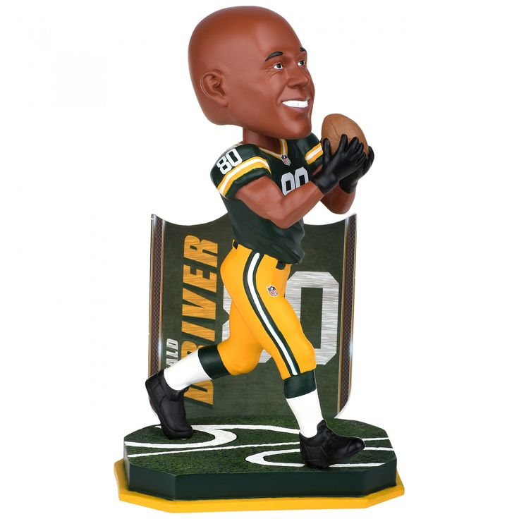 Green Bay Packers #80 Donald Driver Retired Bobblehead at the Packers Pro Shop