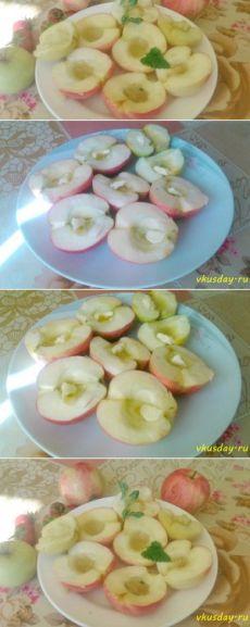 Печеные яблоки с медом   Вкусный день
