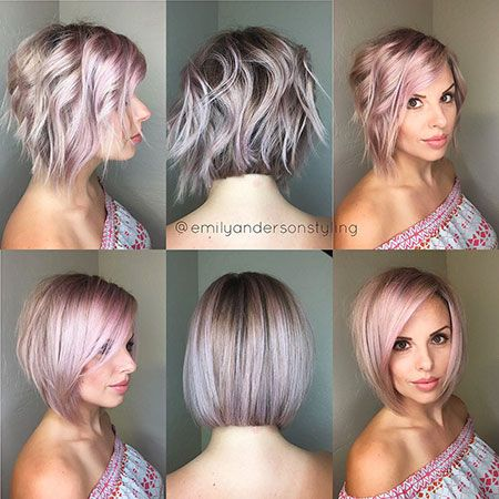 25 Short Layered Bob Hairstyles 2017 2018 Beauty And Hairstyles