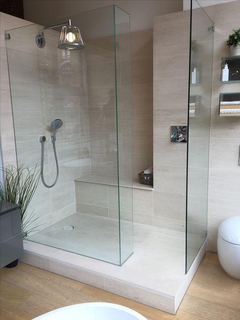 #Steinoptik In Einer #XXL #Dusche / Entdecke Neue Trends Für Bodengleiche  Duschen Bei #Fliesenrabatte / #Traumhaus #Hausbau #Badezimmer #neuesBad  #bathroom