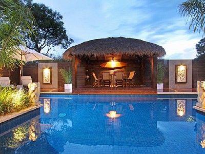 Pool & Bali Hut