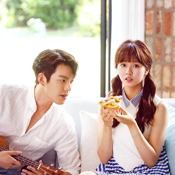 Kim So Hyun and Kim Woo Bin Make Adorable Siblings in Domino's Commercial