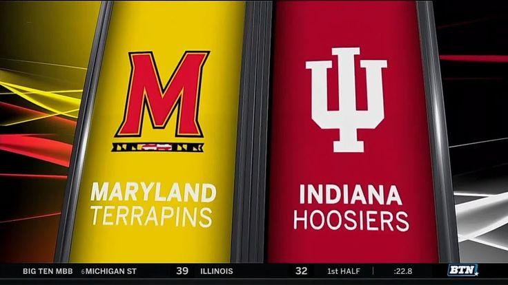 Maryland at Indiana - Men's Basketball Highlights - YouTube
