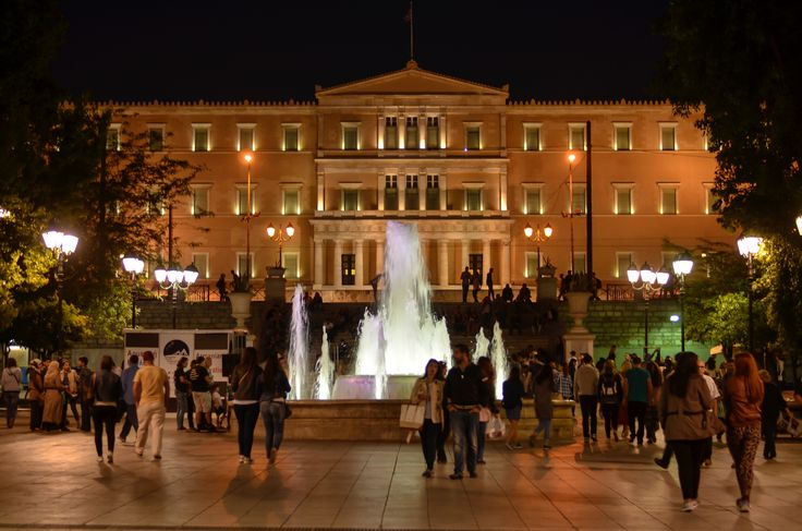 https://flic.kr/p/FC32Qf   The glowing hellenic pariament house   Some pictures from venice and athens