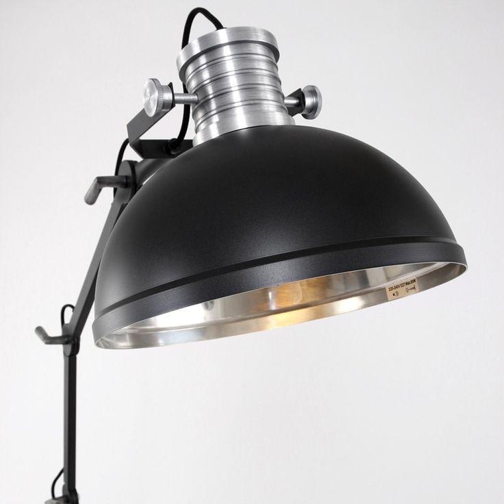 Steinhauer Brooklyn Floor Lamp - Black - Lighting Direct
