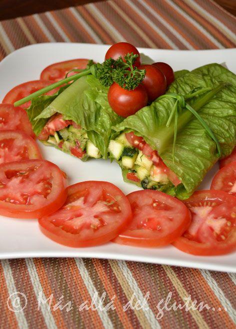 Más allá del gluten...: Burritos o Tacos RAW con Verduras (Receta SCD, GFCFSF, Vegana, RAW)