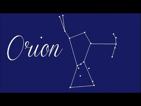 Myth of Orion: Constellation Quest - Astronomy for Kids, FreeSchool - YouTube