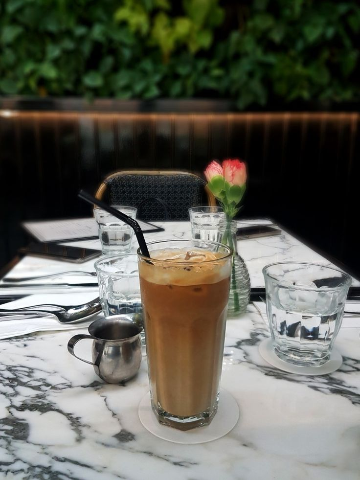 """Ice White Coffee"", PS Cafe, Singapore"