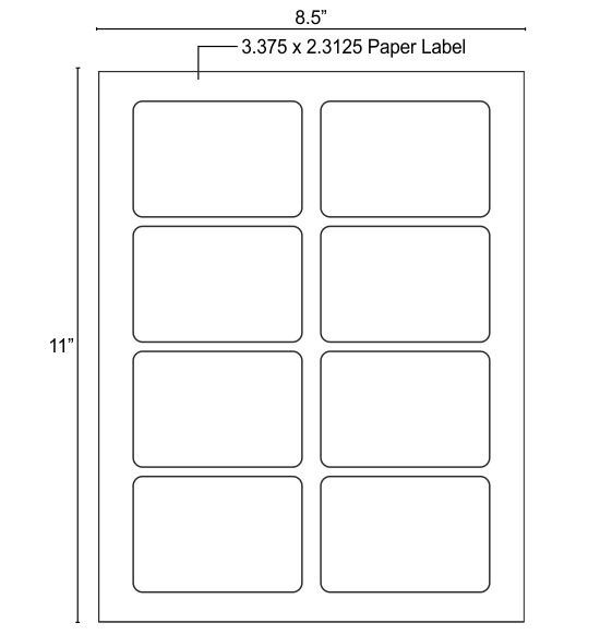 Help with paper labels at bottom