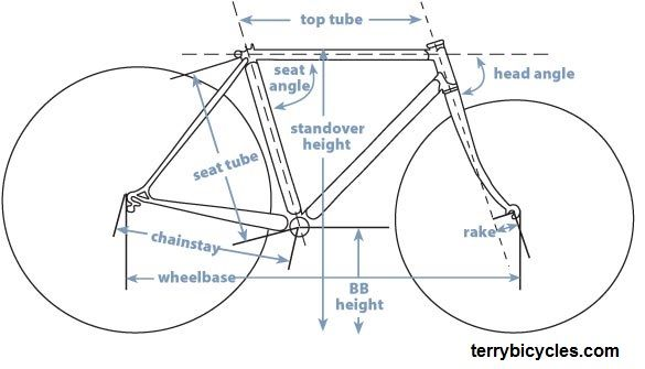 Bike Sizing With Images Bike Head Angles Injury Prevention
