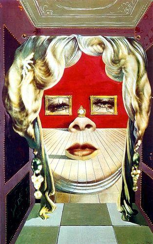 Mae West's Face - Salvador Dali