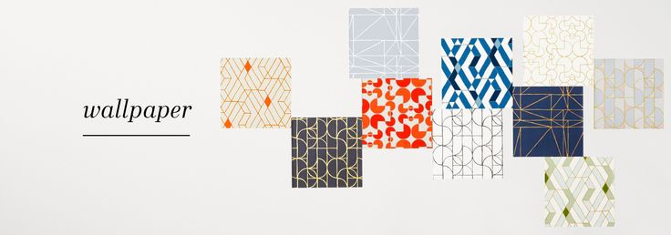 Amazing wallpapers from Hygee & West. Might want to put these in the back of the built ins and cabinets.