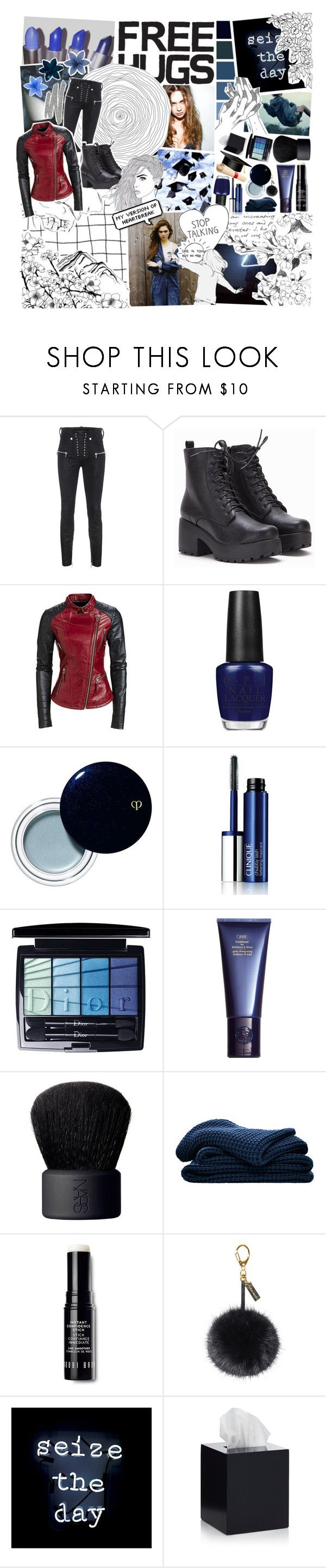 """""""""""Ooh woo, I'm a rebel just for kicks, now // I been feeling it since 1966, now // Might be over now, but I feel it still"""" // Round Ten // Marvel Academy Battle"""" by sorry-its-the-voices ❤ liked on Polyvore featuring Unravel, Libertine, OPI, Clé de Peau Beauté, Clinique, Christian Dior, Space NK, NARS Cosmetics, Sheridan and Bobbi Brown Cosmetics"""