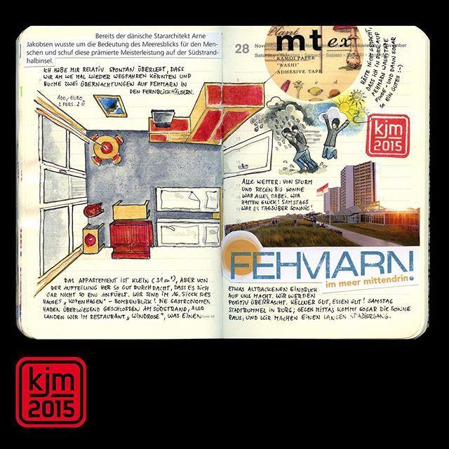 #fehmarn #appartment #hotel #illustrateddiary #illustratedjournal #illustrateyourworld #artjournal #visualjournal #visualjournaling #journal #journaling #washitape #mtmaskingtape
