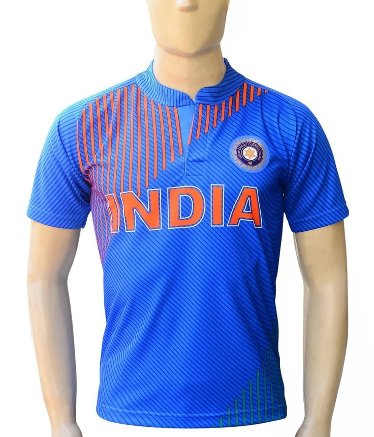 Yuva Team India 2015 Ganguly 99 Cricket Jersey Half Sleeve (40). Polyester Material. Sleeve Type: Half Sleeve. Packaging Items : Jersey. Good quality football jersey and soft feel effect. Ganguly 99 Name Printed On the Back side.