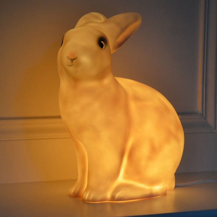 Jolie veilleuse lapin pour un univers feutré