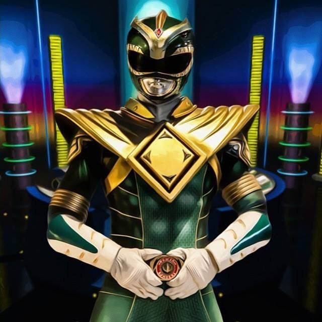 Green Ranger - Mighty Morphin' Power Rangers cosplay