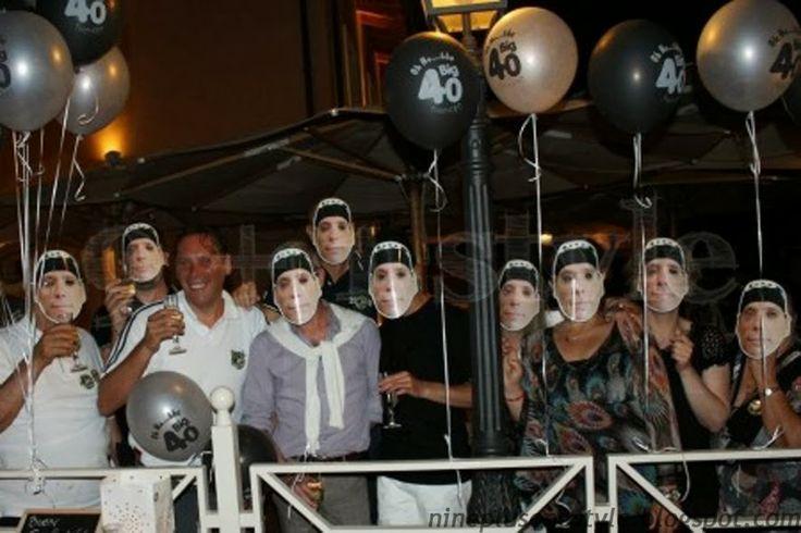 Party mask  9+1style: Piccole idee per un grande compleanno...Biker Style!!!