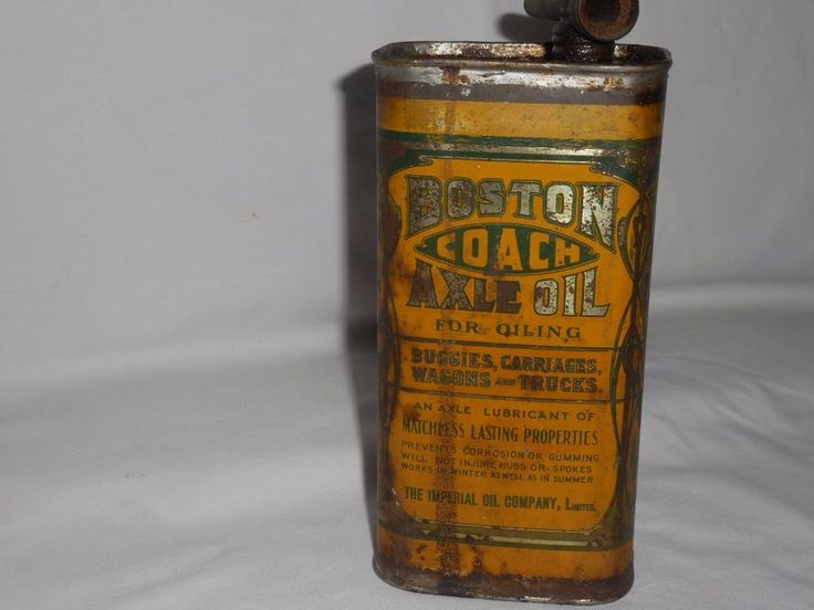 Boston Coach Axle Oil Buggies Carriages Litho Tin With Product Imperial Oil Co #BostonCoachAxleOil