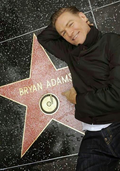 Bryan Adams star