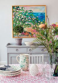 Daily Dream Decor: Colorful classic & modern home
