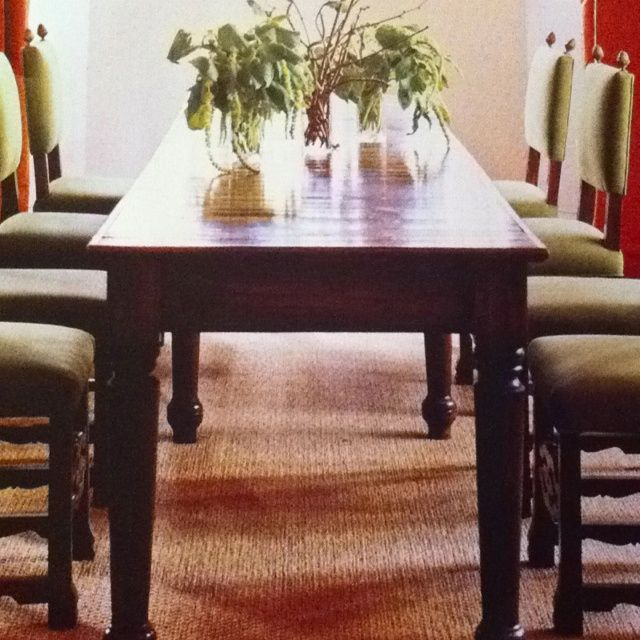 29 Best Narrow Dining Table Images On Pinterest  Dining Rooms Endearing Update Dining Room Chairs Inspiration