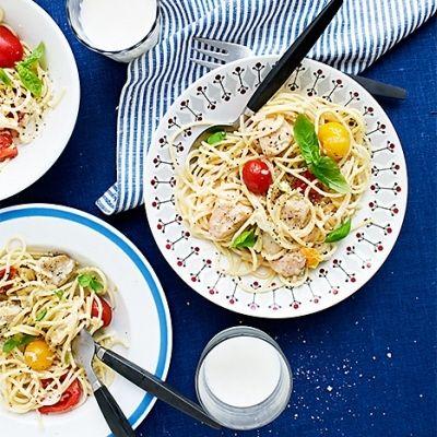 Ine's chicken pasta with lemon (swedish recipe)
