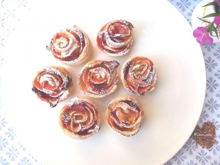 Blätterteig Quickie Teil 1 – Apfel Erdbeer Rosen – Vegane Rezepte – Schne …