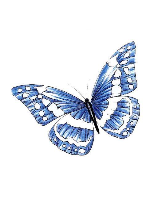 Pin Blue Butterflies Monarch Tattoos on Pinterest