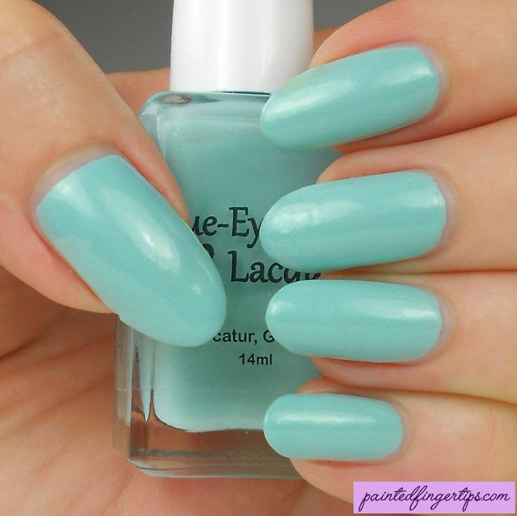Painted Fingertips | Swatch - Blue-Eyed Girl Lacquer Monster's Tea at Tiffany's