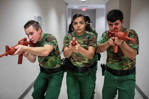 War games: the patriotic clubs training young Americans – in