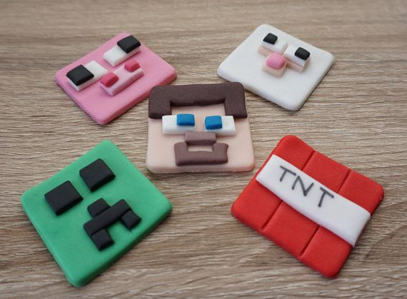 MineCraft Cupcake Toppers, MineCraft party decorations, MineCraft birthday, MineCraft, MineCraft Party, MineCraft cake decorations