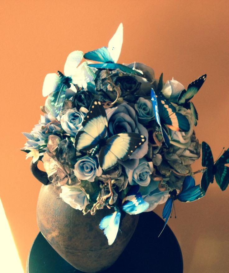 The Corpse Bride Bouquet Facebook.com/knottoworry