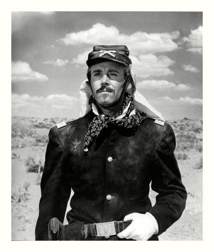 "Director John Ford's ""Fort Apache"" starring Henry Fonda (1948). Fonda's character is not a likable one in this."