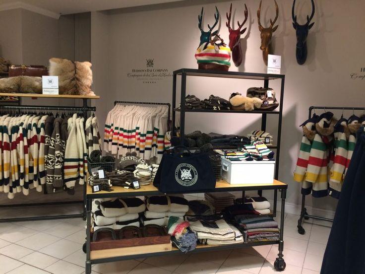The Hudson's Bay Company é uma das maiores empresas de varejo do mundo, com 460 lojas de departamento e multimarca na América do Norte e na Europa e 65.000 funcionários.  As principais bandeiras da HBC são Hudson's Bay no Canadá, Lord & Taylor e Saks Fifth Avenue.