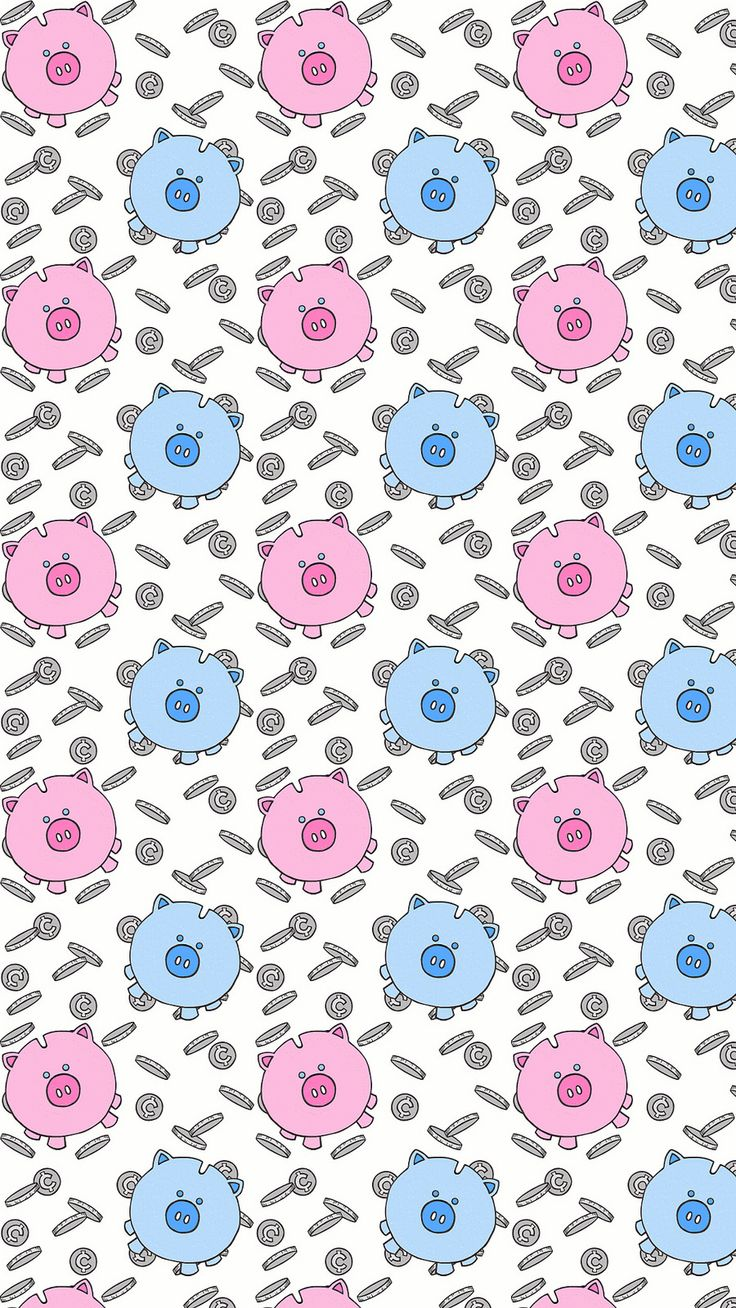 Pig Pattern Wallpaper iPhone 6 Plus | ....... nothin' but ...