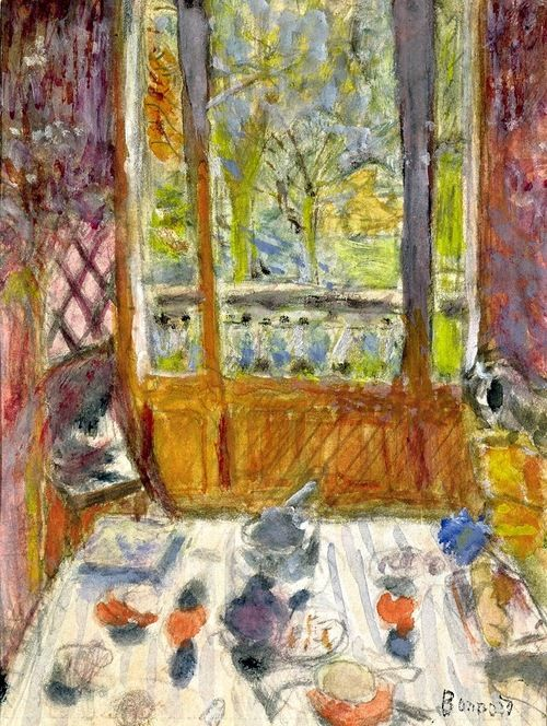 Pierre bonnard the breakfast and breakfast on pinterest - Salle a manger de jardin ...