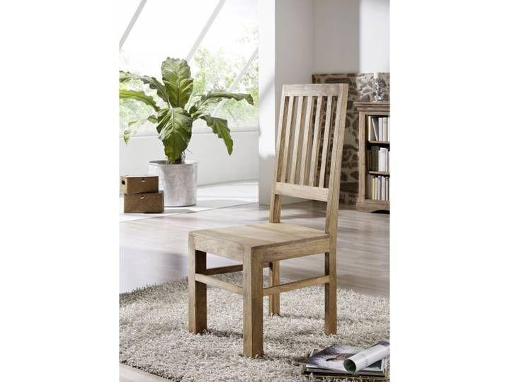 Stuhl Wei゚ Holz Landhaus