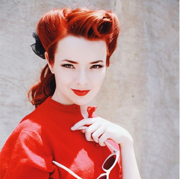 Tutorial Rambut Retro Fashion Blogger
